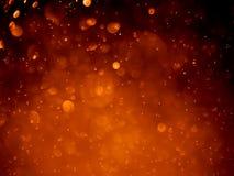 Rood bellen bokeh abstract achtergrond en behang Royalty-vrije Stock Foto