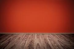 Rood binnenlands ontwerp Royalty-vrije Stock Foto