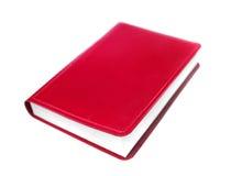 Rood boek stock fotografie