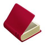 Rood boek Stock Foto's