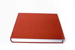 Rood boek Stock Foto