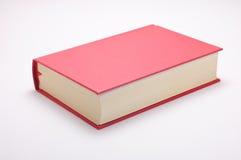 Rood boek dat op wit wordt geïsoleerd Royalty-vrije Stock Afbeeldingen