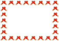 Rood boogframe Royalty-vrije Stock Afbeeldingen