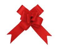 Rood boogknipsel Stock Afbeelding
