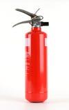 Rood brandblusapparaat Royalty-vrije Stock Afbeeldingen