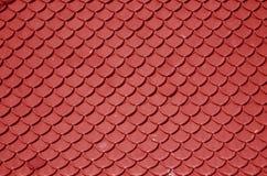 Rood dak Royalty-vrije Stock Afbeeldingen