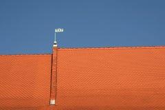 Rood dak Royalty-vrije Stock Afbeelding