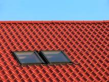 Rood dak I. Royalty-vrije Stock Afbeelding