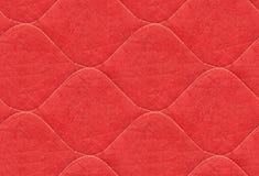 Rood dekbed Royalty-vrije Stock Afbeeldingen