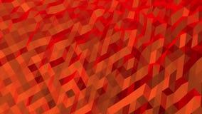 Rood Diagonaal Abstract Laag Polypatroon royalty-vrije illustratie