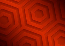 Rood document geometrisch patroon, abstract malplaatje als achtergrond voor website, banner, adreskaartje, uitnodiging, prentbrie Stock Fotografie