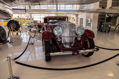 Rood 1935 Duesenberg Modelj Royalty-vrije Stock Afbeelding