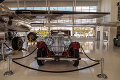 Rood 1935 Duesenberg Modelj Royalty-vrije Stock Fotografie