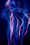 Rood en blauw stock afbeelding