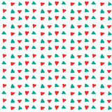 Rood en blauw hartpatroon Royalty-vrije Stock Fotografie