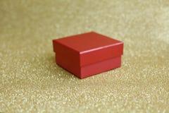 Rood en doos Royalty-vrije Stock Afbeelding