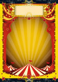 Rood en geel circus Royalty-vrije Stock Afbeelding