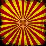 Rood en geel patroon Stock Fotografie