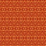 Rood en gouden patroon Stock Foto's