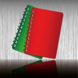 Rood en Groen notitieboekje Royalty-vrije Stock Foto