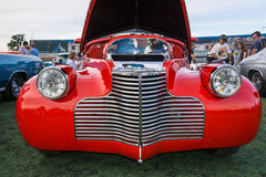 Rood en zilver Royalty-vrije Stock Afbeelding