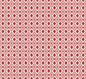 Rood Etnisch ornament Marokkaanse decoratie Het lapwerk of het dekbed Grafische achtergrond Royalty-vrije Stock Afbeelding