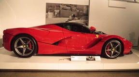 Rood 2014 Ferrari Laferrari Royalty-vrije Stock Foto's