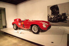 Rood 1955 Ferrari 857 Sport Royalty-vrije Stock Fotografie