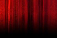 Rood fluweelgordijn met textuur Royalty-vrije Stock Fotografie