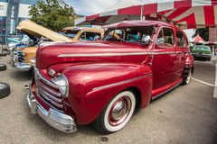 Rood Ford Stock Afbeeldingen