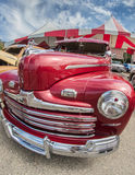 Rood Ford Stock Foto