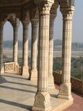 Rood Fort Agra Royalty-vrije Stock Afbeeldingen