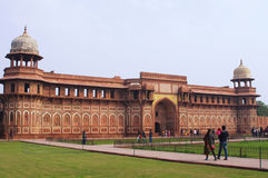 Rood Fort in Agra Royalty-vrije Stock Fotografie