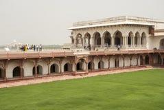 Rood Fort Agra Royalty-vrije Stock Fotografie