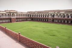 Rood Fort Agra Stock Afbeeldingen