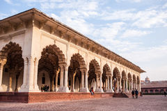 Rood Fort in Agra Royalty-vrije Stock Fotografie