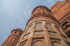 Rood Fort in Agra Stock Foto