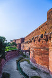 Rood Fort in Agra, Amar Singh Gate, India, Uttar Pradesh Royalty-vrije Stock Afbeelding