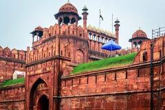 Rood fort in Delhi Royalty-vrije Stock Afbeelding
