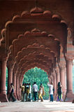 Rood Fort, Delhi, India. Stock Foto