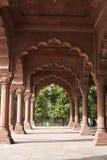 Rood Fort in Oud Delhi, India Royalty-vrije Stock Afbeeldingen