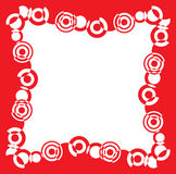 Rood frame vector illustratie