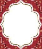 Rood frame Royalty-vrije Stock Fotografie