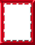 Rood Frame Royalty-vrije Stock Afbeeldingen