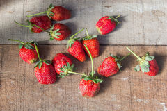 Rood fruit Royalty-vrije Stock Foto