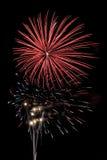 Rood is gebarsten dat met   Royalty-vrije Stock Fotografie