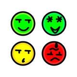 Rood, geel, groen vector illustratie