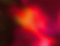 Rood Geometrisch behang Als achtergrond Stock Fotografie