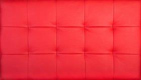 Rood gewatteerd leer royalty-vrije stock foto's
