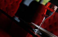 Rood glas Royalty-vrije Stock Afbeeldingen